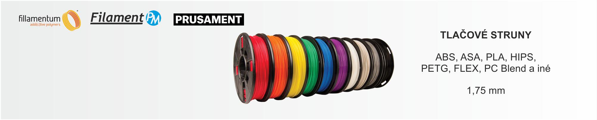 Filamenty Pre 3D tlac - slider